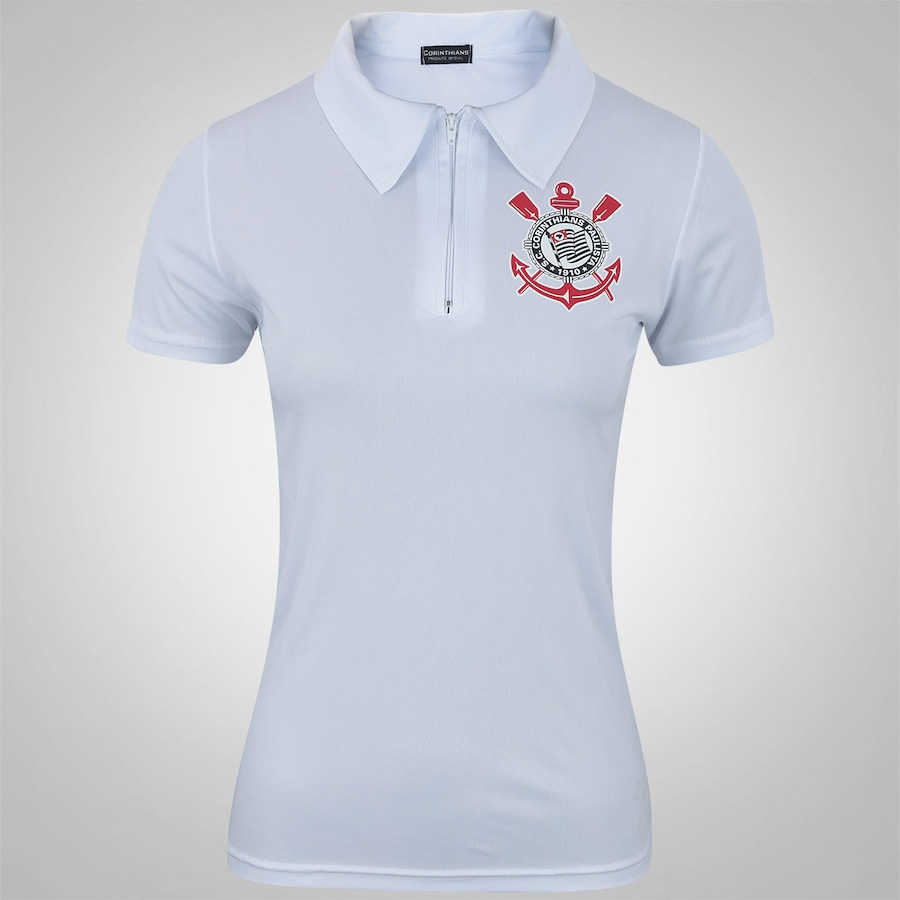 Camisa Polo do Corinthians Now - Feminina a28a5deb1e269