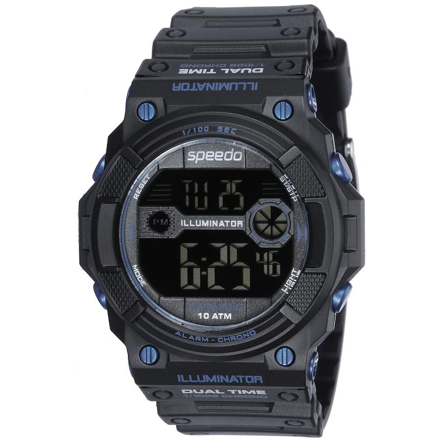 5aa1c3ba367 Relógio Digital Speedo 81079G0 - Resistência Água 10 ATM