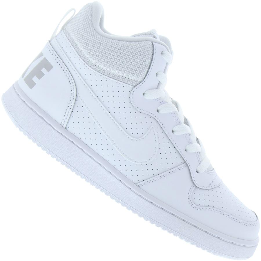 69f159e3568 Tênis Cano Alto Nike Court Borough Mid - Infantil