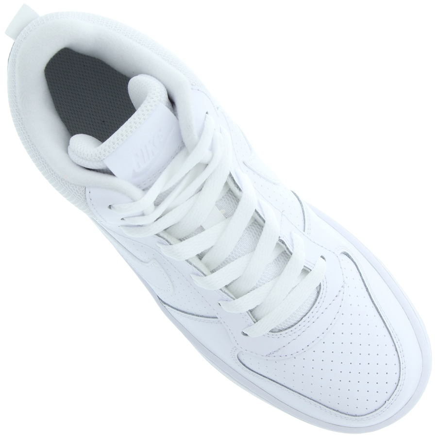 e6a0252cf0d4e Tênis Cano Alto Nike Court Borough Mid - Infantil
