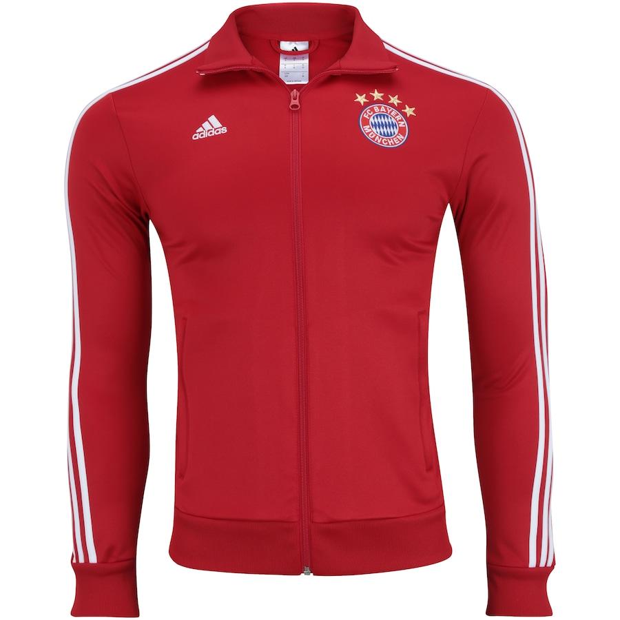 05573e4800d11 Jaqueta Bayern de Munique 3S adidas - Masculina
