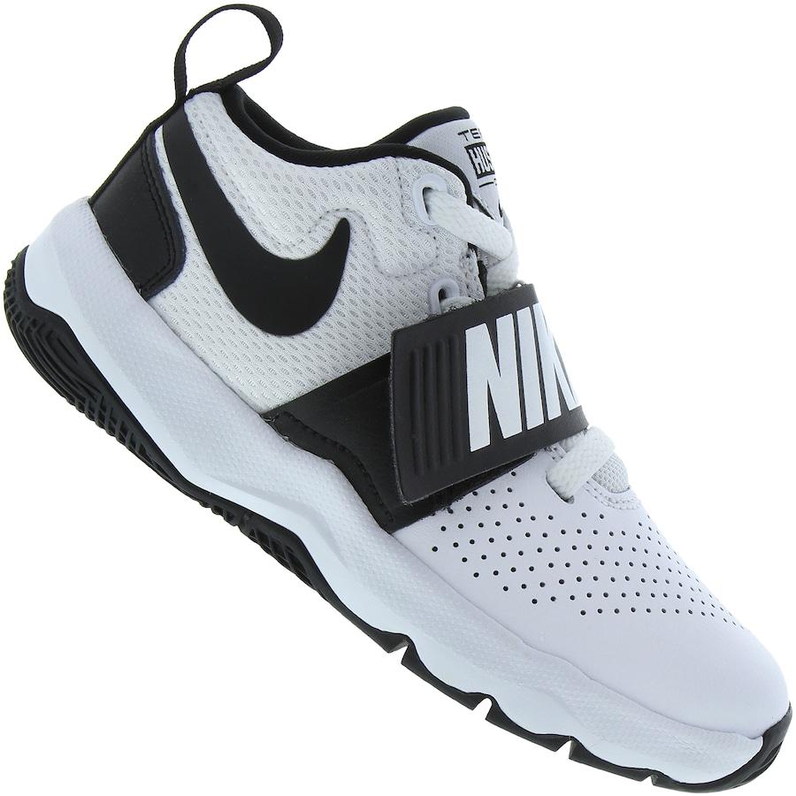 887d608cdbc Tênis Nike Team Hustle D 8 Tira em Velcro - Infantil