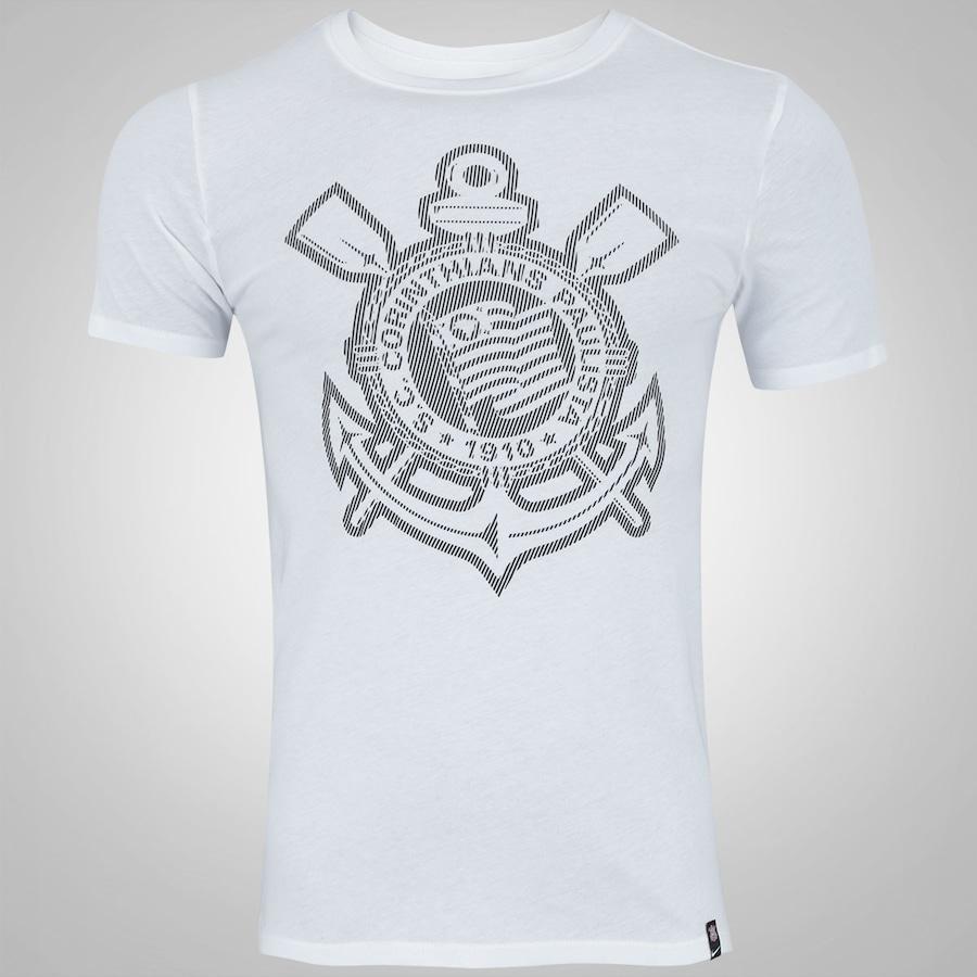 Camiseta do Corinthians Crest 2017 Nike - Masculina 9ac33fe9a4f31