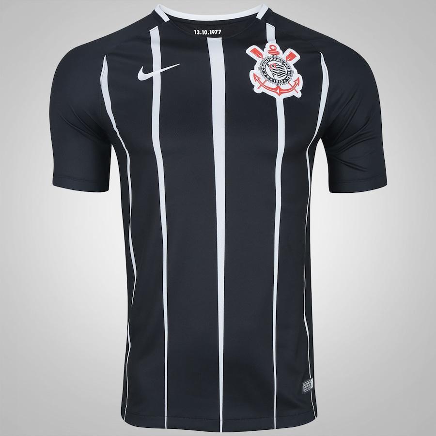 b2f1544f3f6f4 Camisa do Corinthians II 2017 Nike - Masculina