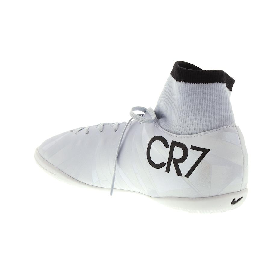 66be2e808c ... Chuteira Futsal Nike Mercurial X Victory VI CR7 DF IC - Infantil ...