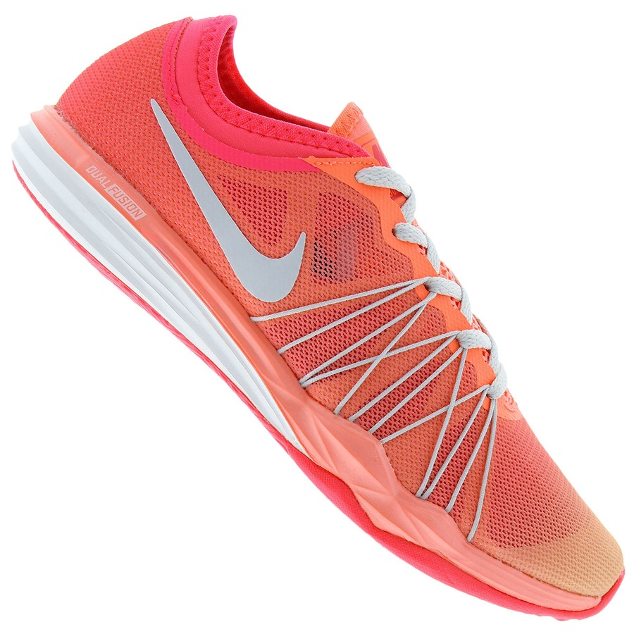 9afe1942a71 Tênis Nike Dual Fusion TR Hit Fade - Feminino