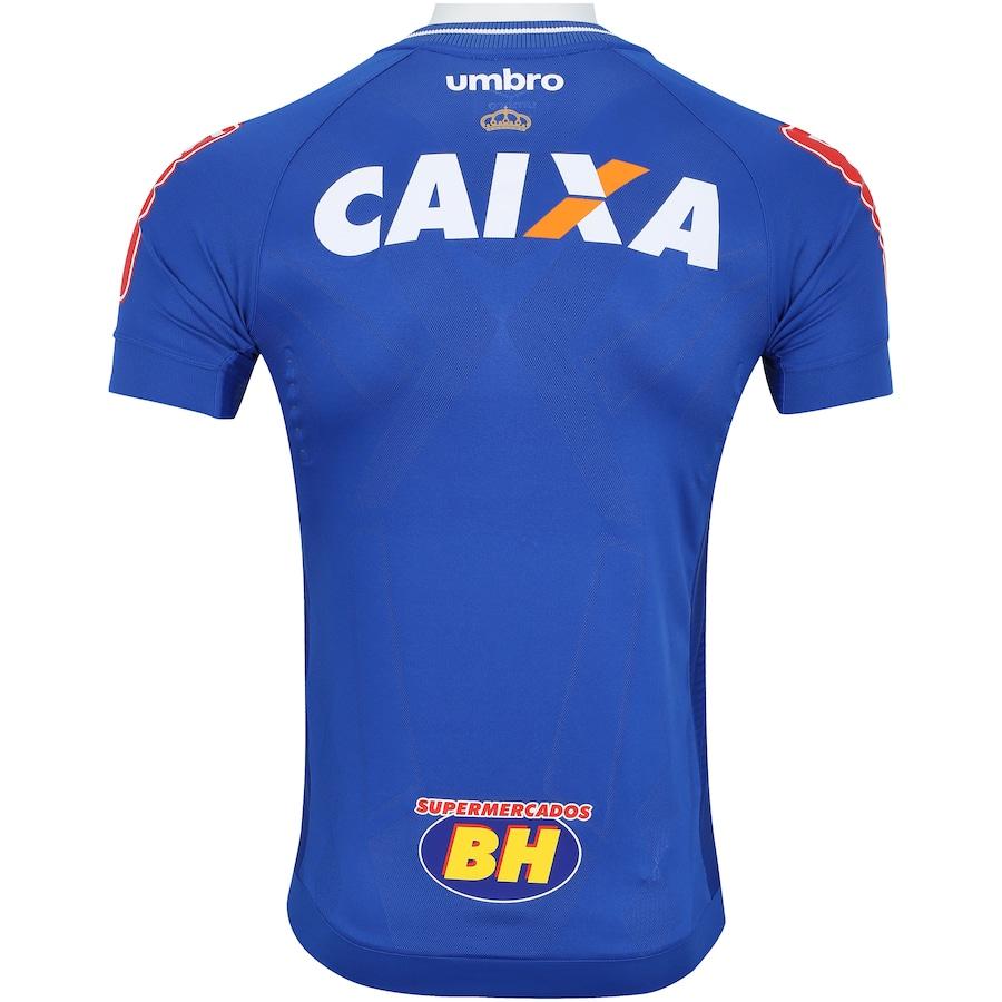 Camisa do Cruzeiro I 2017 Umbro - Jogador f893a5d53c01b