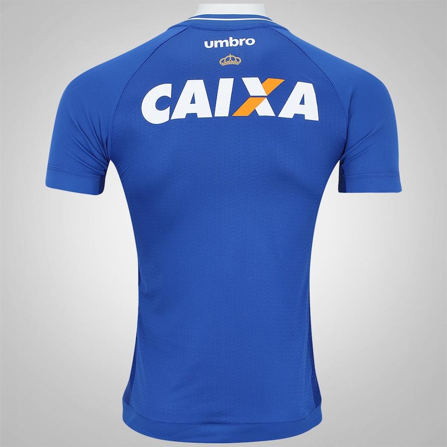 d57489afb6 Camisa do Cruzeiro I 2017 Umbro - Masculina
