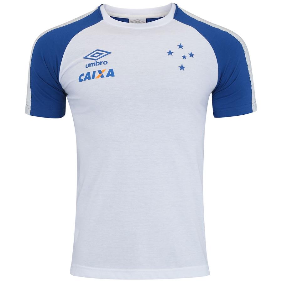 ea98e5e43a Camiseta do Cruzeiro Concentração 2017 Umbro - Masculina