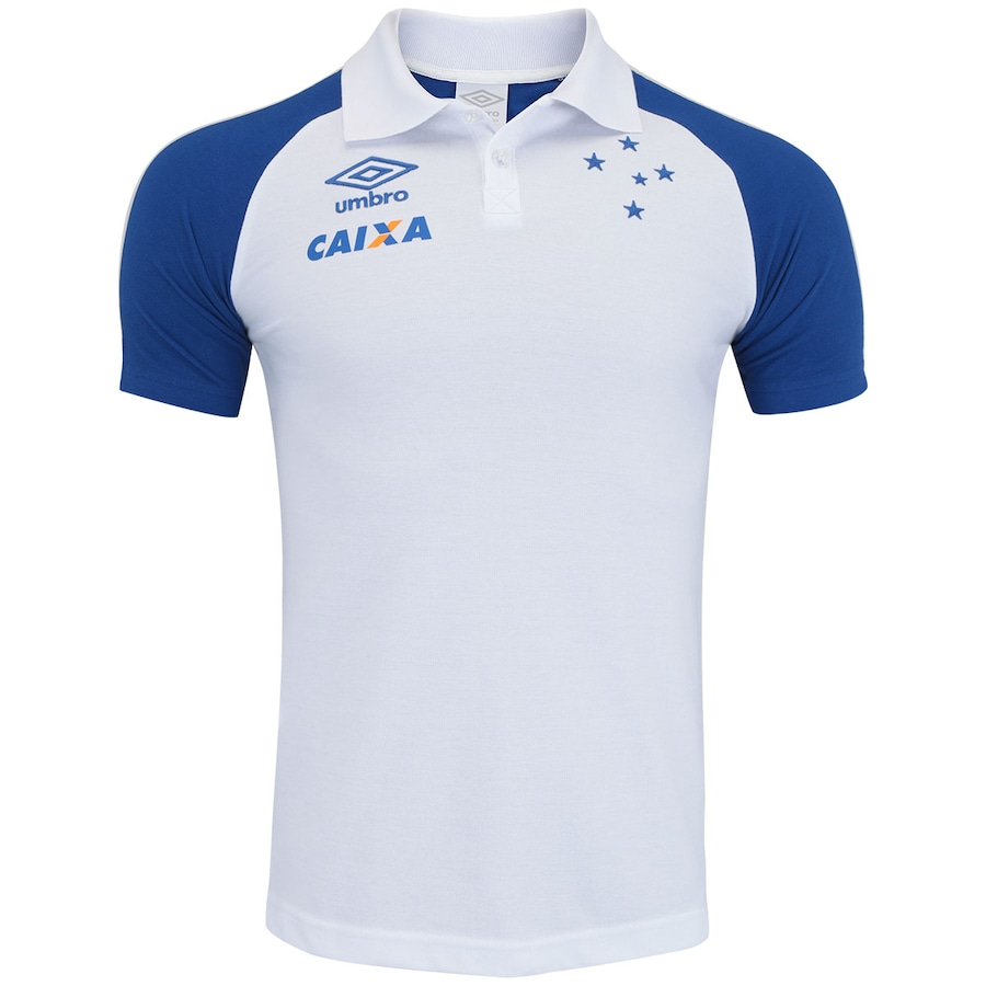 5b6cdb0e14e44 Camisa Polo do Cruzeiro Viagem 2017 Umbro - Masculina