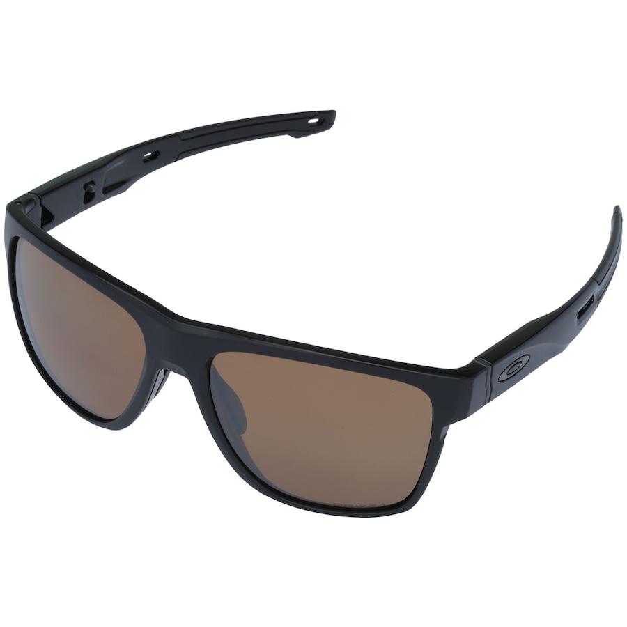 b2cc9c426f421 Óculos de Sol Oakley Crossrange XL Polarizado Prizm Unissex