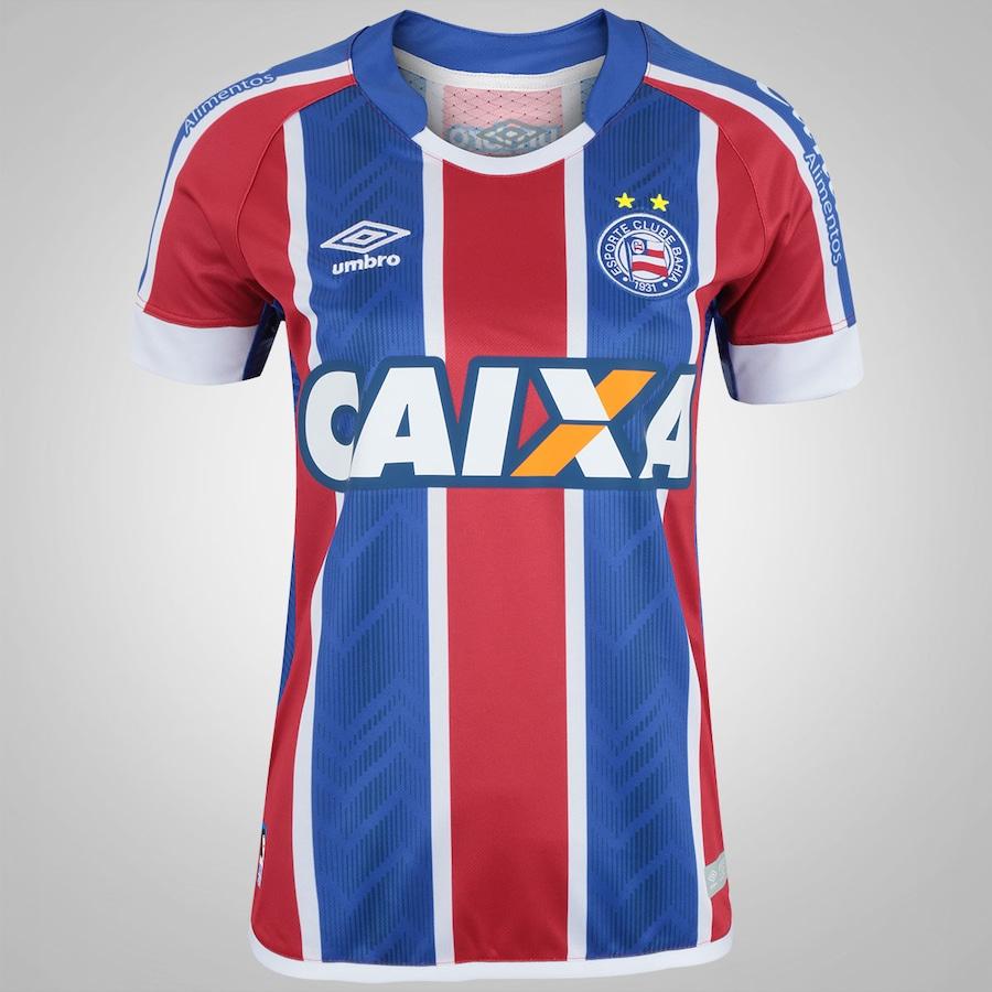 9d79a5f514 Camisa do Bahia II 2017 nº 10 Umbro - Feminina