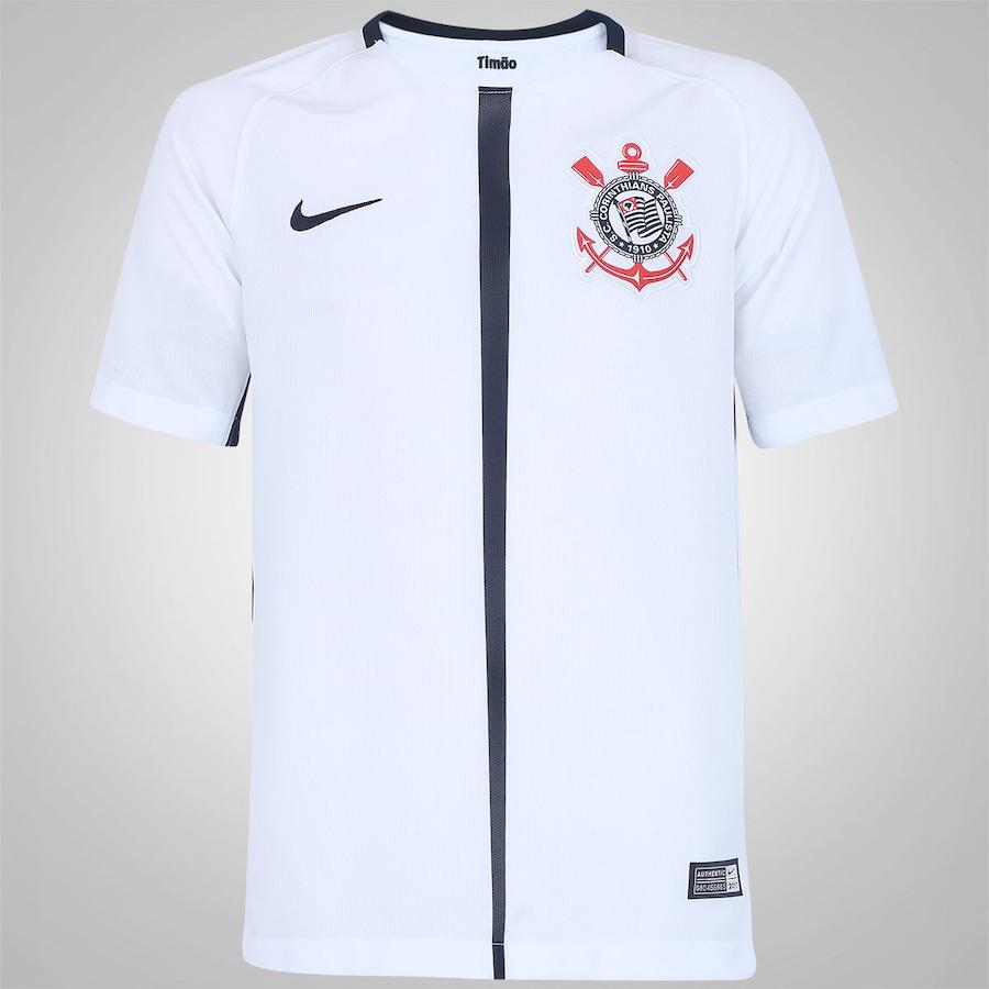 c2c553cdfc42a Camisa do Corinthians I 2017 Nike - Infantil