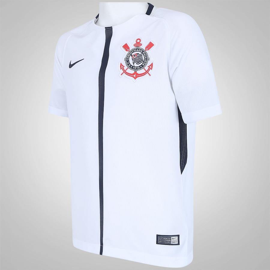 46770e9083b90 Camisa do Corinthians I 2017 Nike - Infantil