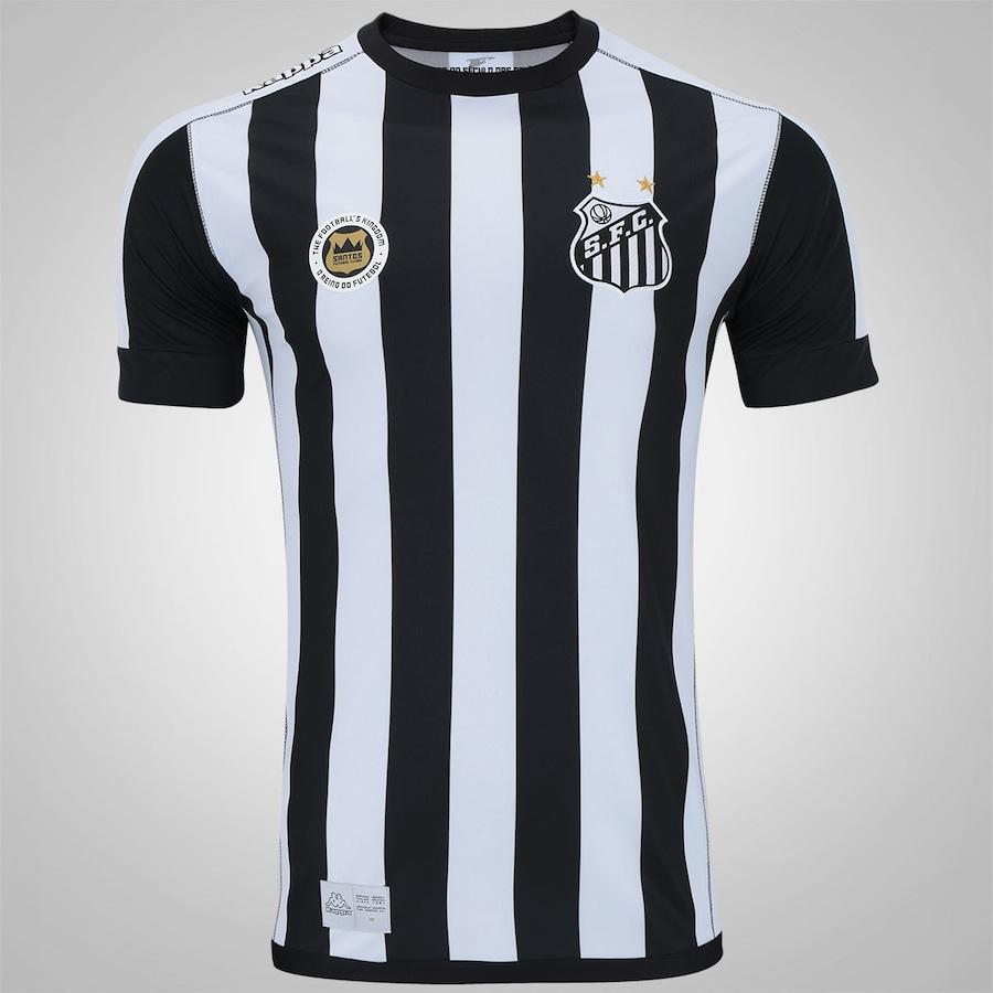 Camisa do Santos II 2017 Kappa - Masculina 3df74c9c38904