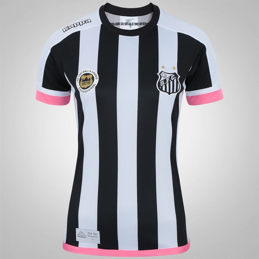d840cd1df7538 Camisa do Santos II 2017 Kappa - Feminina