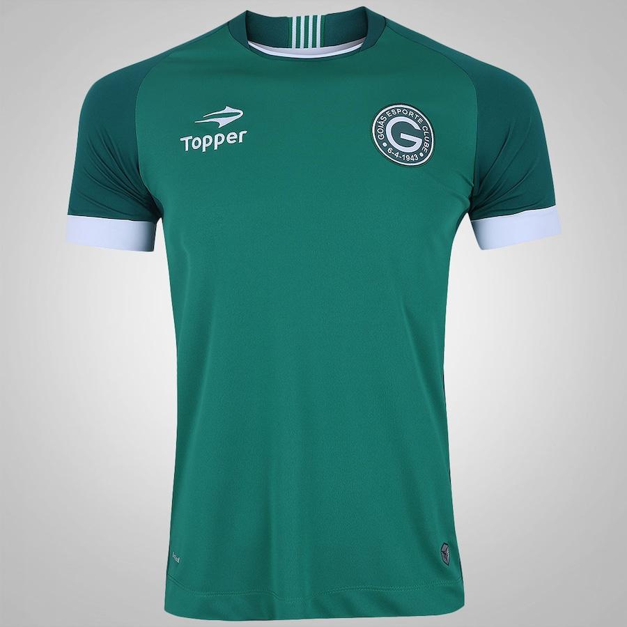 Camisa do Goiás I 2017 Topper - Masculina cd2de5a18eb51