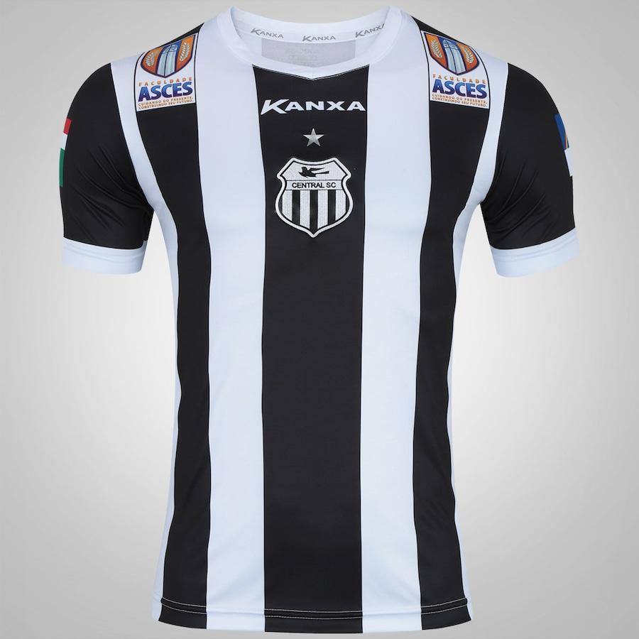 e35c37b12 Camisa do Central de Caruaru I 2017 nº 10 Kanxa - Masculina