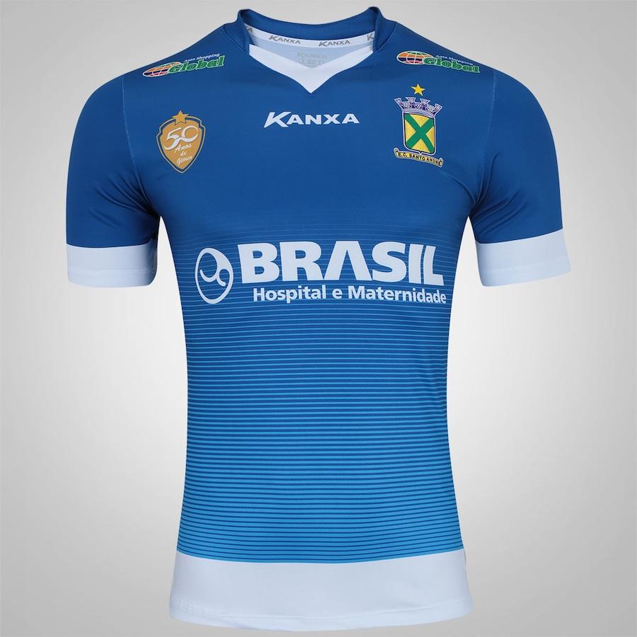 024567325c Camisa do Santo André I 2017 nº 10 Kanxa - Masculina