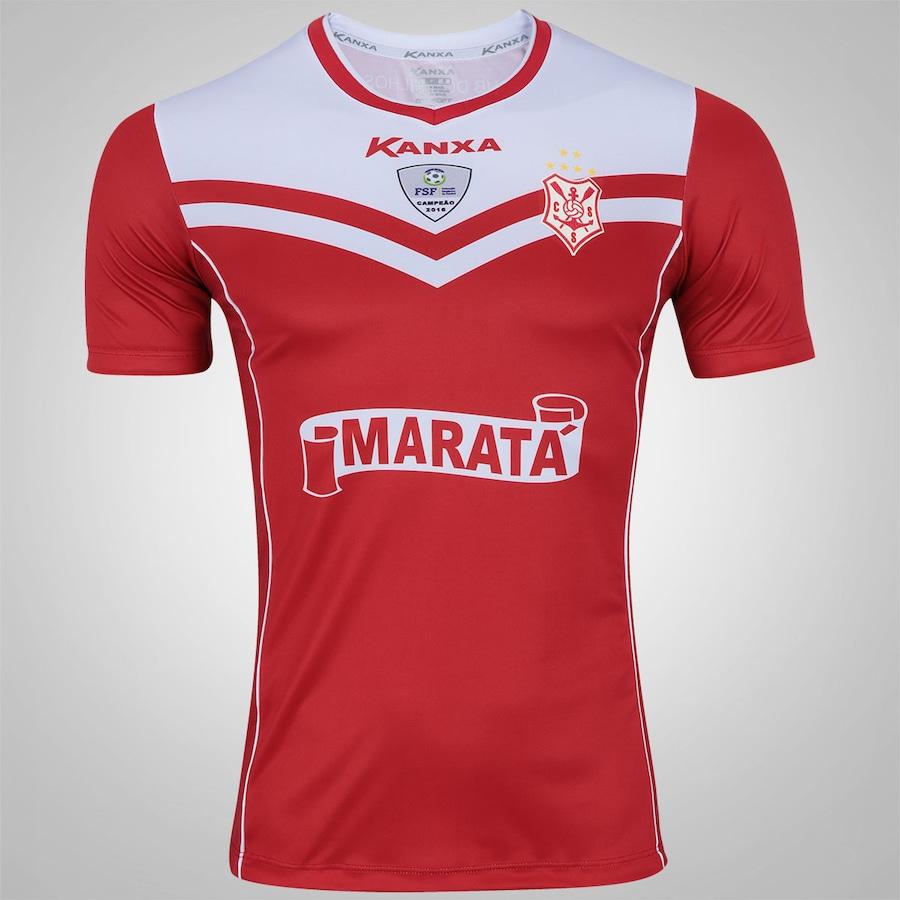 Camisa do Sergipe I 2017 nº 10 Kanxa - Masculina 818fb3ad5fa87