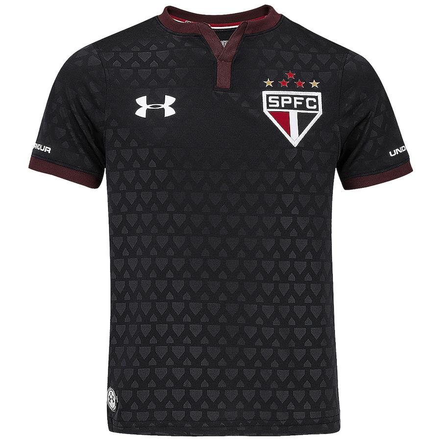 Camisa do São Paulo III 2017 Under Armour - Inf f9f599150e12b