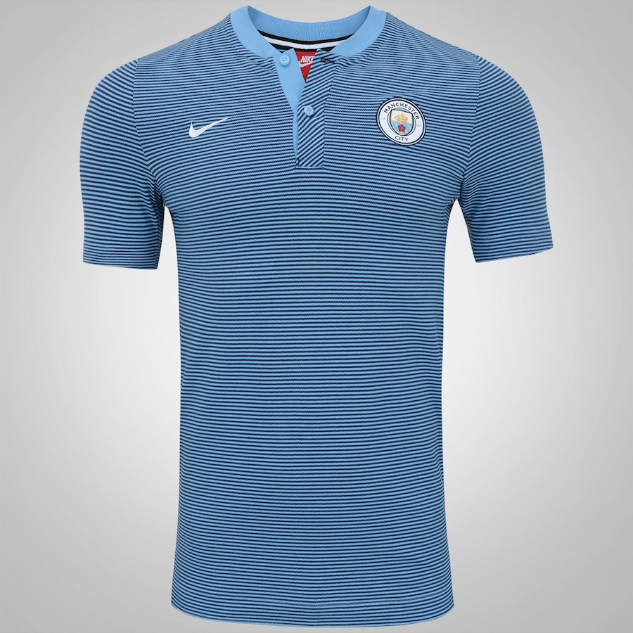 Camisa Polo Manchester City Nike Modern Authentic Masculina e852f0211368f