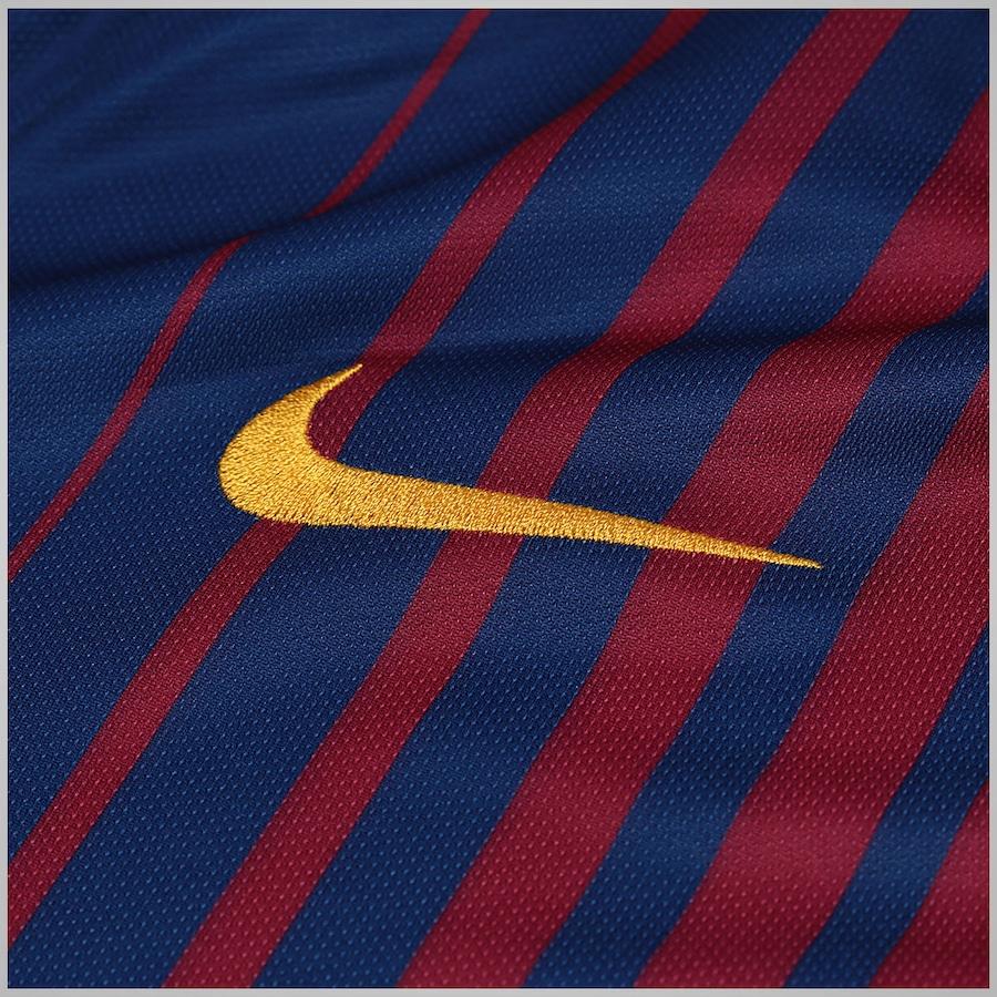 5033e765e0 Camisa Barcelona I 17 18 Nike - Masculina