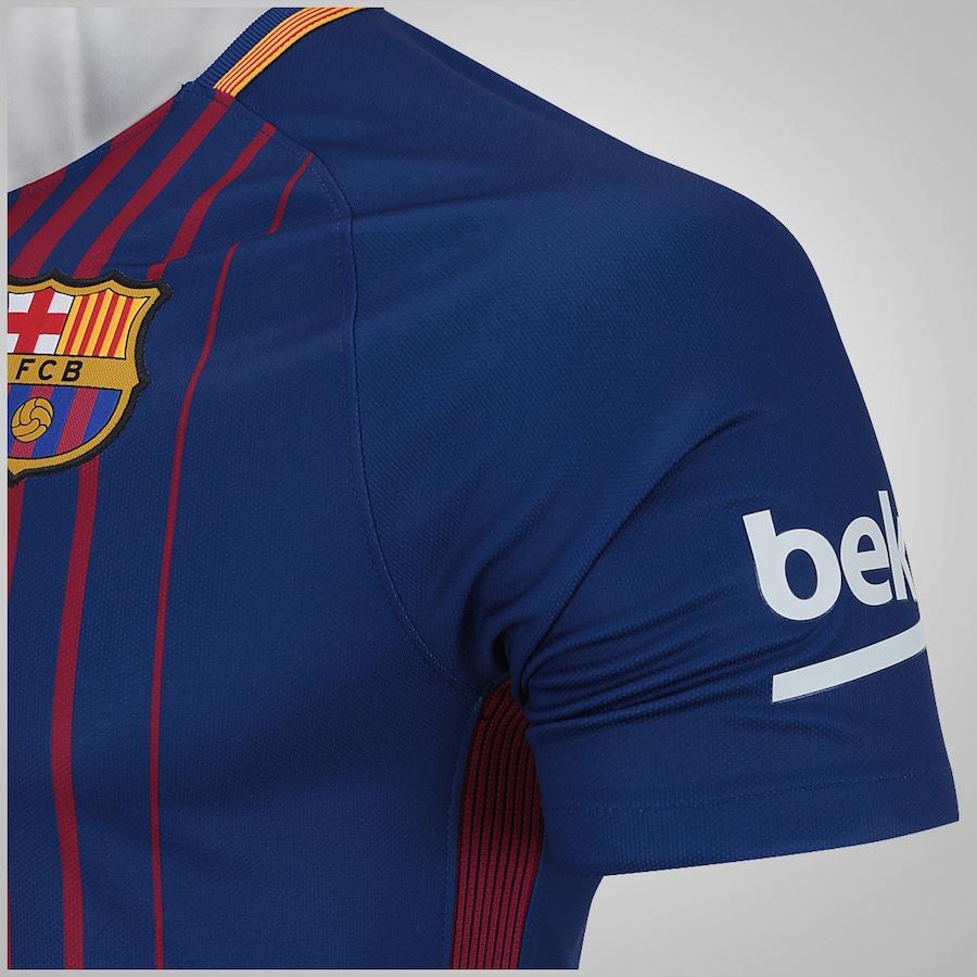 f0a1c0c648 Camisa Barcelona I 17 18 Nike - Masculina