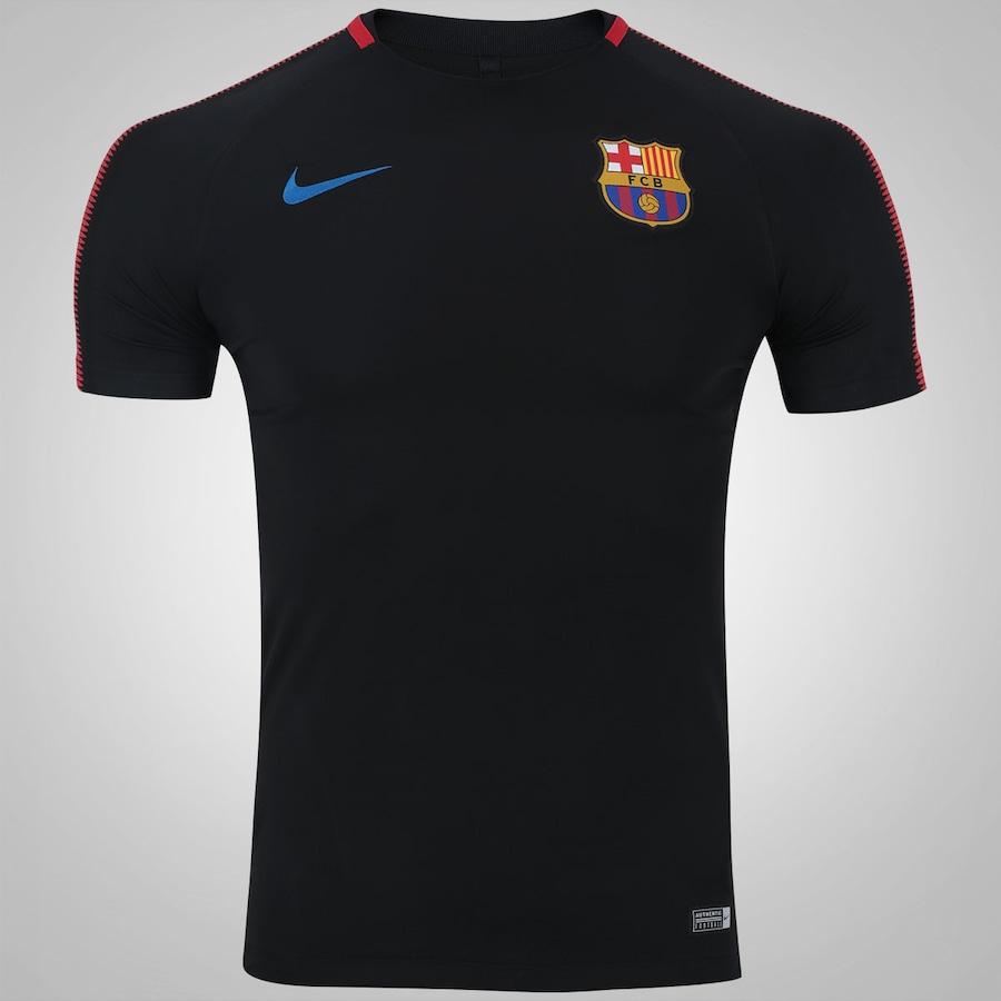 94c31dd058 Camisa de Treino Barcelona 17 18 Nike - Masculina