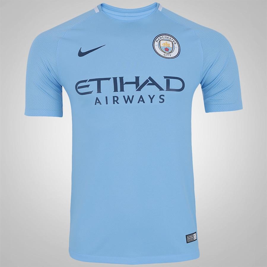 Camisa Manchester City I 17 18 Nike - Masculina 24d51b6e12a16