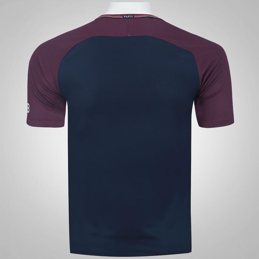 Camisa PSG I 17 18 Nike - Masculina 513db9b8fe5