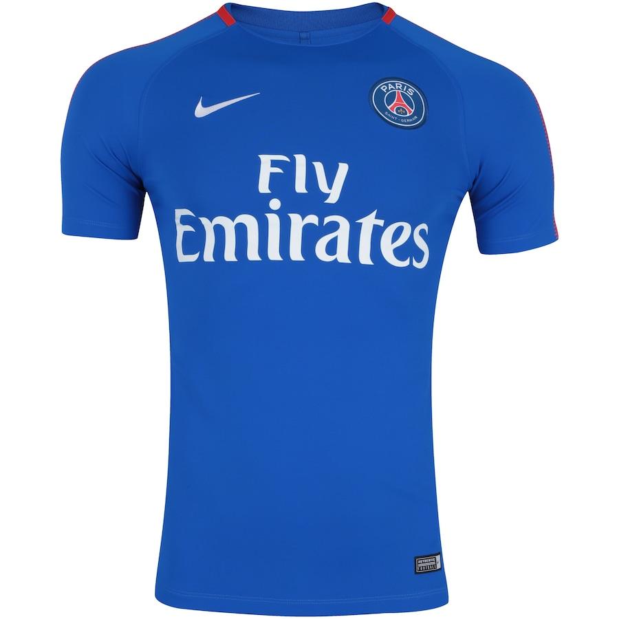 Camisa de Treino PSG 17 18 Nike - Masculina 84f3f9cf4cd0d