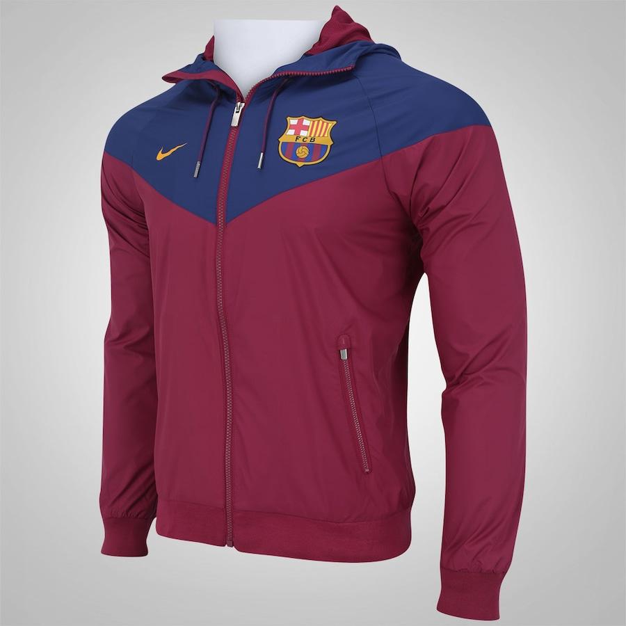 f0865b2844 Jaqueta Barcelona Nike Authentic - Masculina
