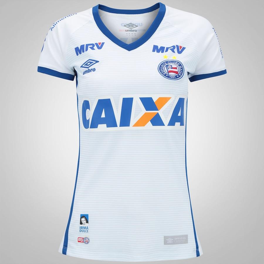 13a0d093ec Camisa do Bahia I 2016 nº 10 Umbro - Feminina