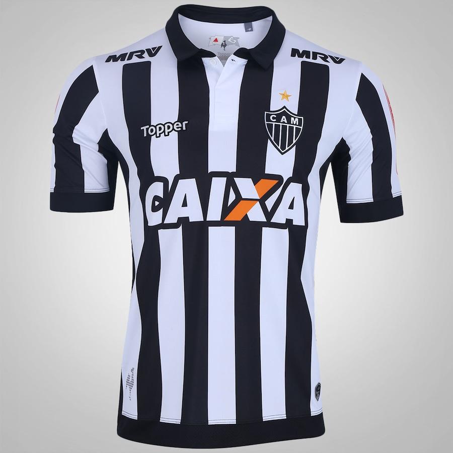 015638c6326bd Camisa Atlético-MG I 2017 Topper Personalizável - Masculina
