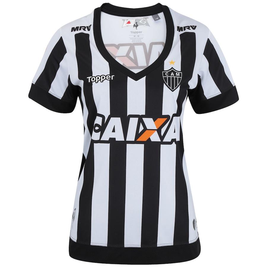 0d4833cd3fd5a Camisa do Atlético-MG I 2017 Topper - Feminina