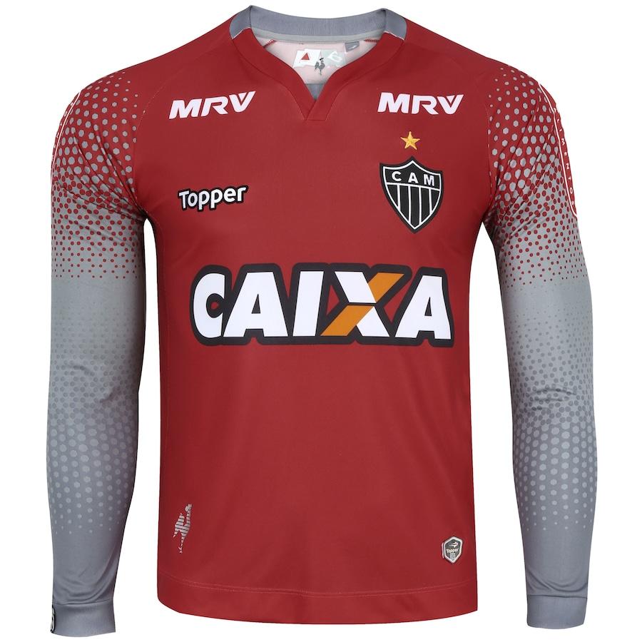 Camisa de Goleiro do Atlético-MG II 2017 Topper - Masculina ffc2611864fc1