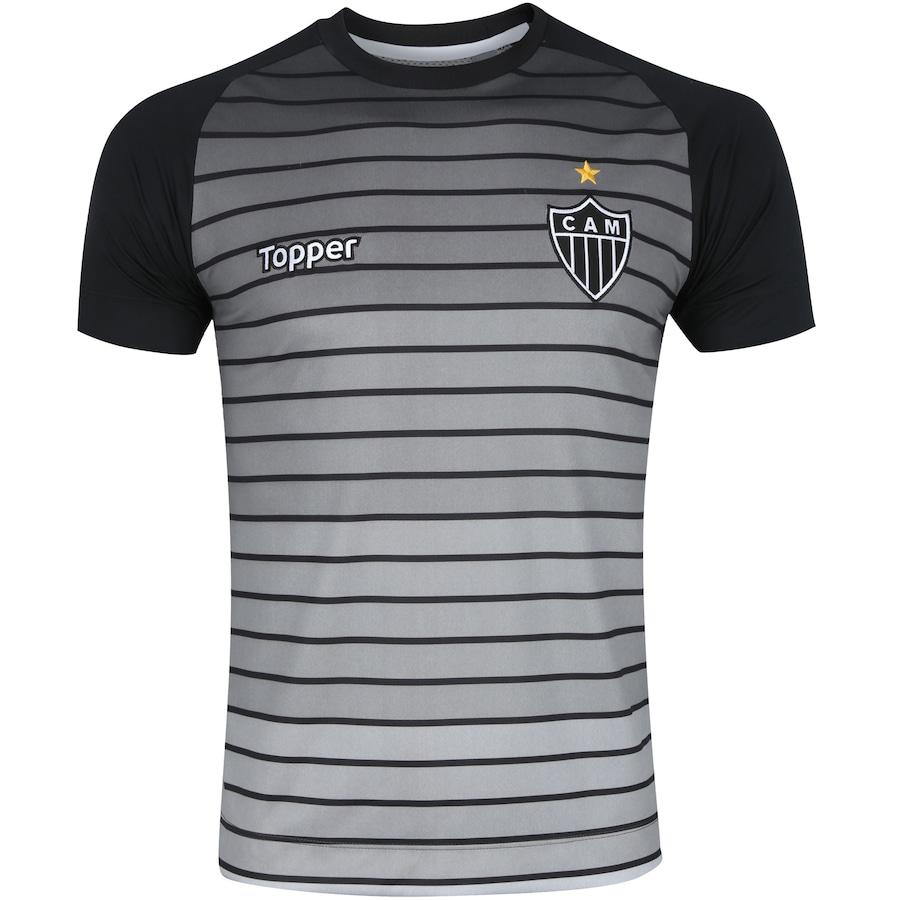 Camisa do Atlético-MG Aquecimento 2017 Topper - Masculina 1c718b677c263