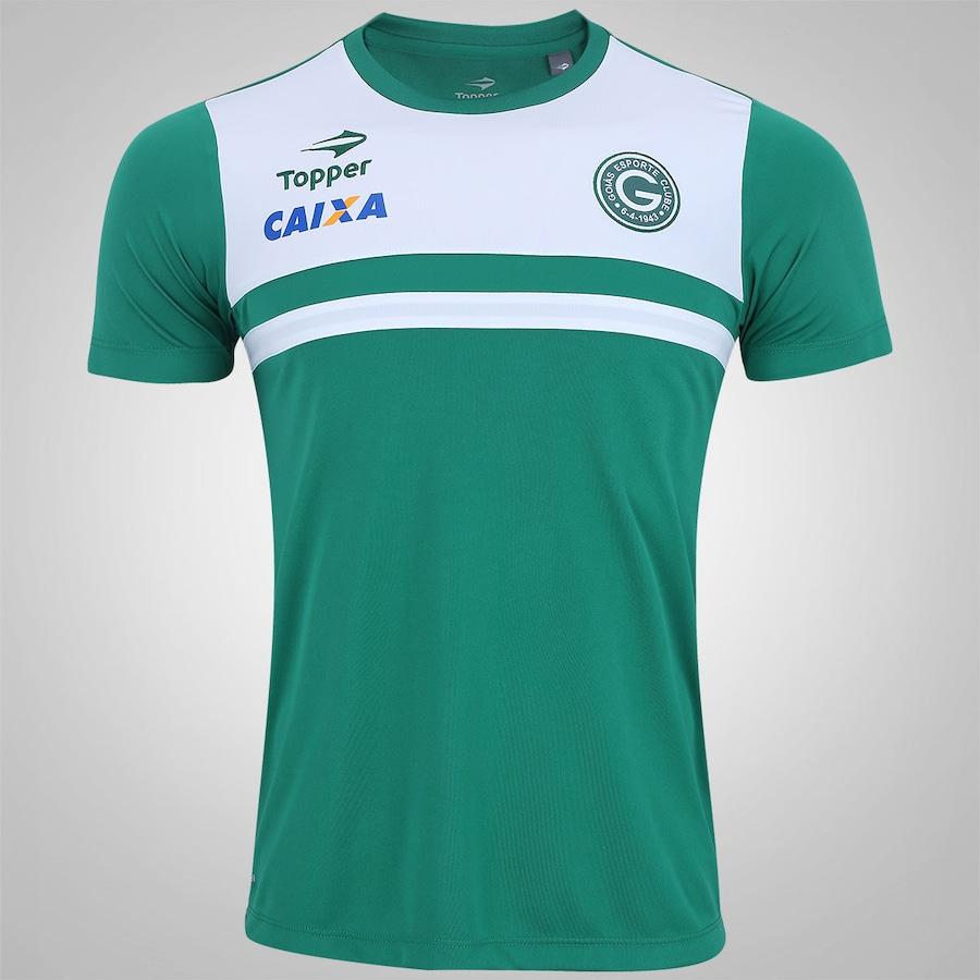 Camisa do Goiás Comissão Técnica 2017 Topper - Masculina 6f227e9d553aa