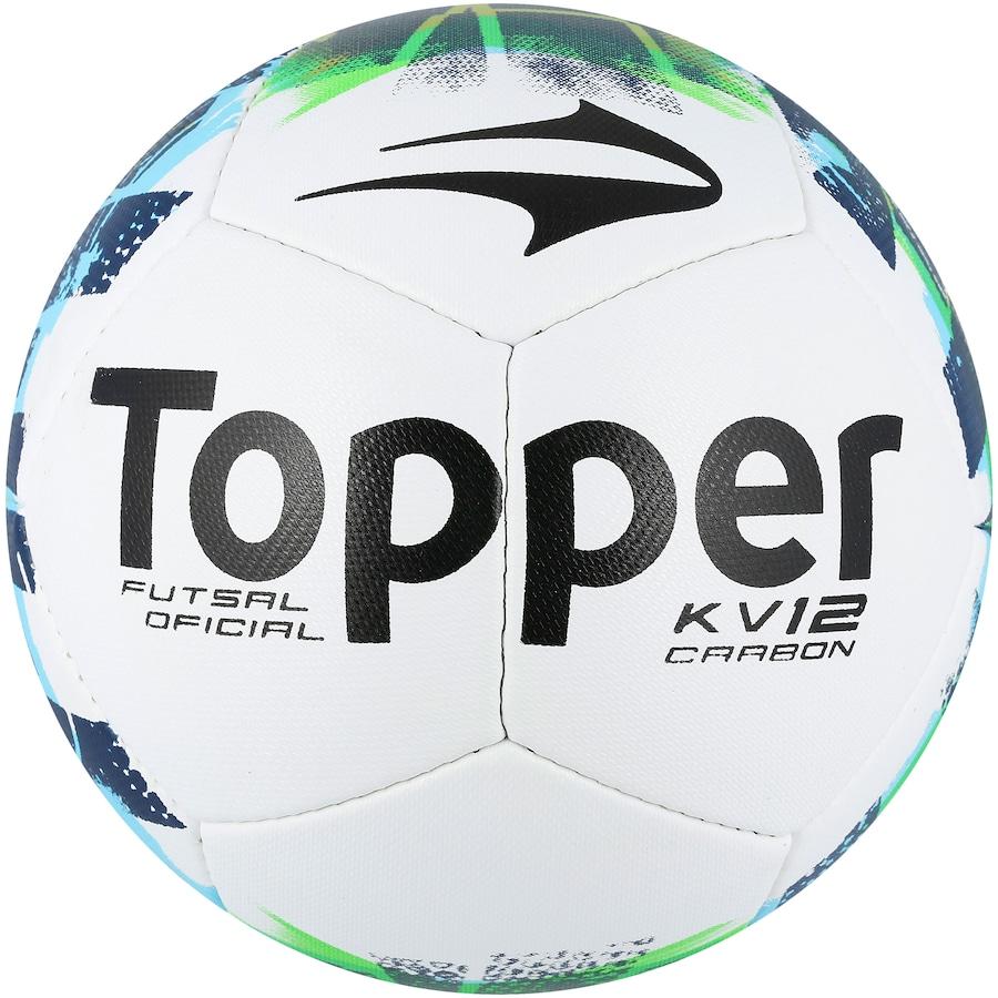 Bola de Futsal Topper KV Carbon II 78b01bb66616b