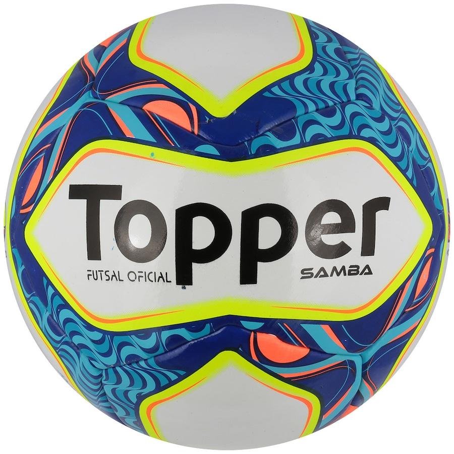 Bola de Futsal Topper Samba da0fa108c6483
