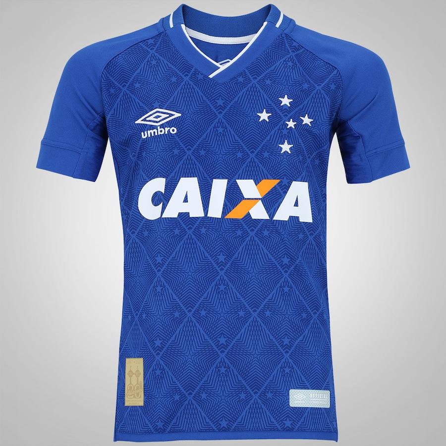 Camisa do Cruzeiro I 2017 nº 10 Umbro - Infantil c73bc281fdb99