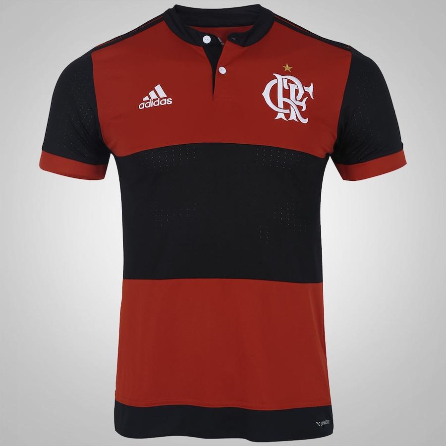 Camisa do Flamengo I 2017 adidas - Masculina 9af4e27378256
