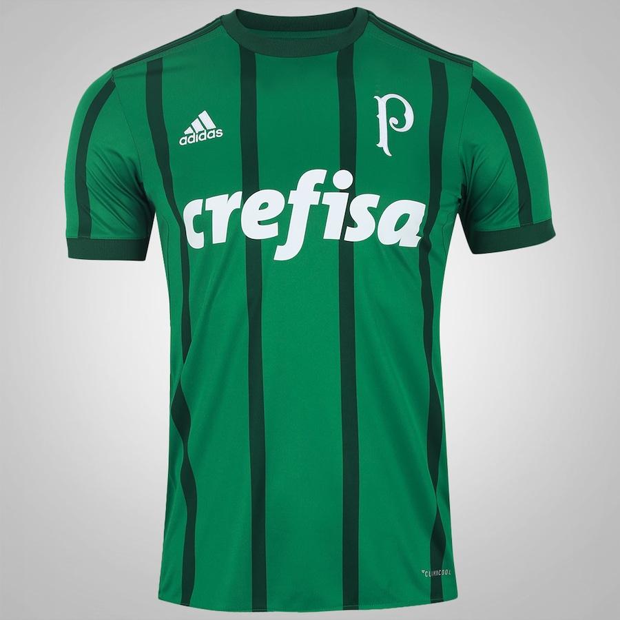 Camisa do Palmeiras I 2017 adidas - Masculina 0769c25089d19