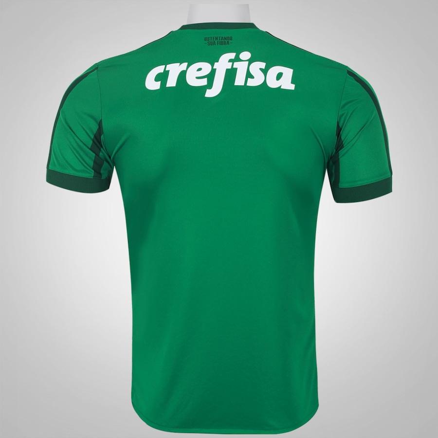 Camisa do Palmeiras I 2017 adidas - Masculina 06d4a7f23bc38