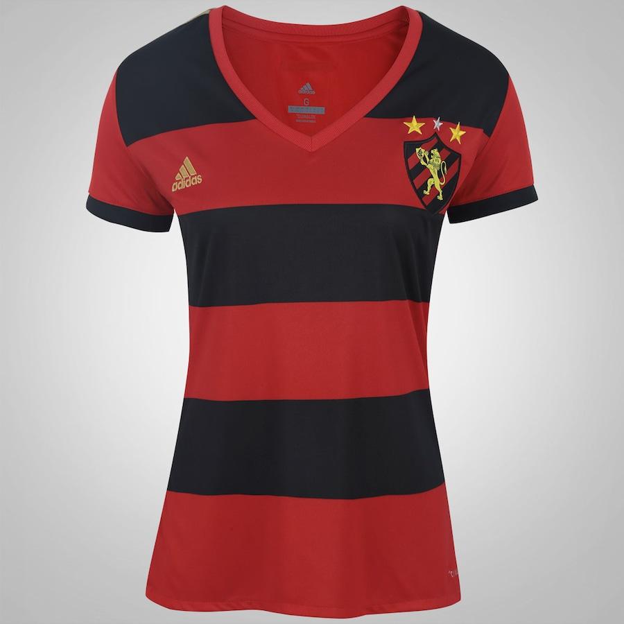 9cf4834871 Camisa do Sport Recife I 2017 adidas - Feminina