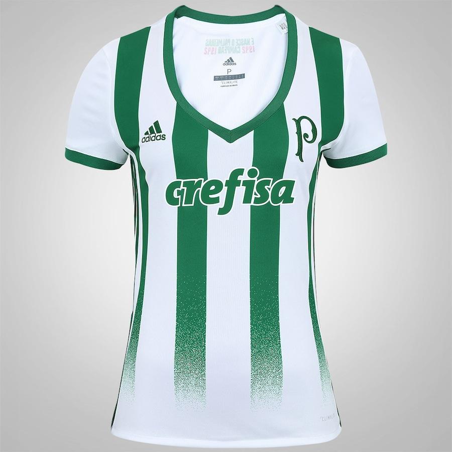 Camisa do Palmeiras II 2017 adidas - Feminina efced4d91d183