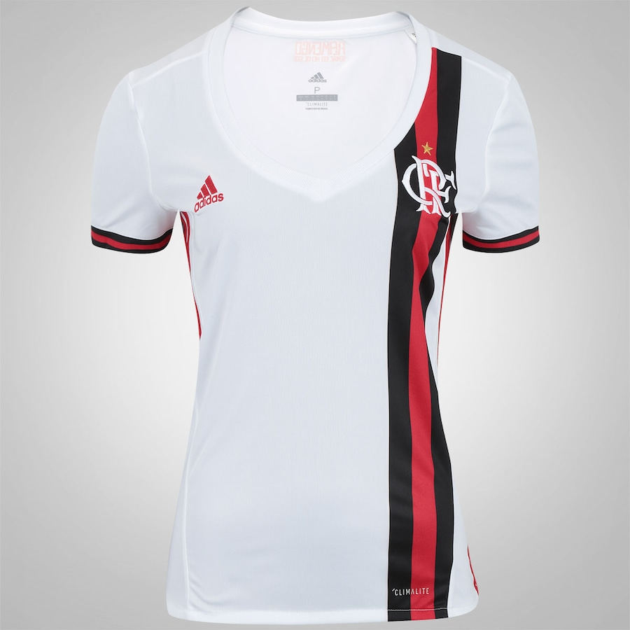 869b8d3baef3f Camisa do Flamengo II 2017 adidas - Feminina