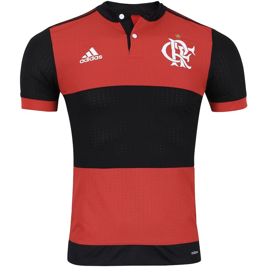 Camisa do Flamengo I 2017 adidas - Jogador d7b608e10ef98