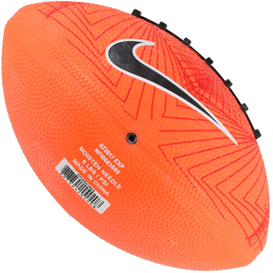 761fc0c09 Minibola de Futebol Americano Nike 500 4.0 FB 5 Swoosh